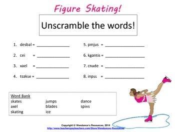 Figure Skating, Winter Games