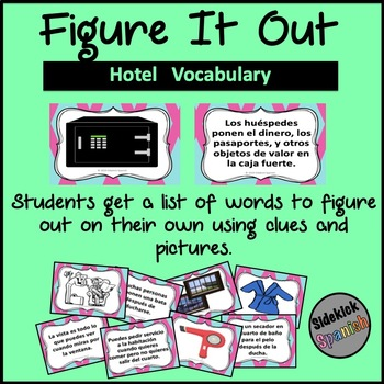 Figure it Out: Hotel Vocabulary in Spanish