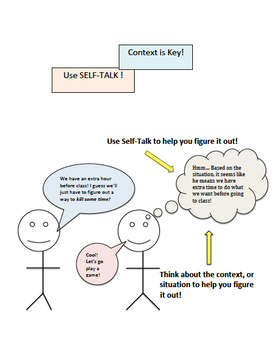 Figurative Language: Use Self-Talk and Context to Figure it Out!