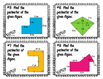 PERIMETER of irregular figures: Figure that?!