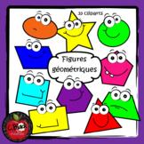 Figures géométriques / shapes (33 cliparts)