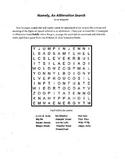 Figures of Speech,Alliteration,Hyperbole,Apostrophe,5 Puzzle Package,grades 5-12