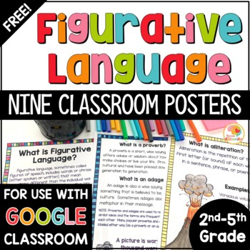 Figurative Language Posters FREE