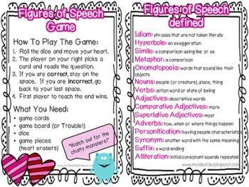 Figures of Speech Game - Valentine Version