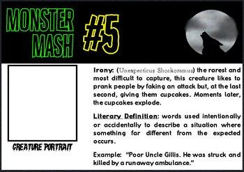 Figures of Speech: Monster Mash Creative Writing Drill