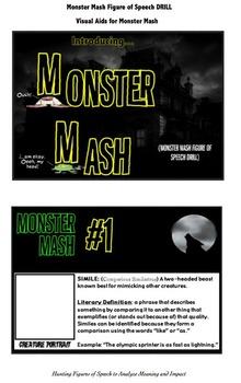 Figures of Speech: Monster Mash Creative Writing Drill