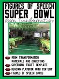 Figures of Speech Super Bowl Room Transformation