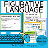 Figurative Language: Print and Digital for Google Classroo