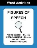 Figures of Speech - Word Search, Word Scramble,  Secret Co