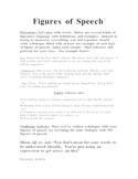 Figures of Speech activity
