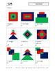 Figures on grid: square, rectangle, triangle, diamond
