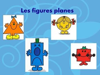 Figures planes leçons interactive
