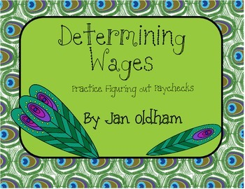 Figuring Wages and Paychecks