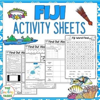 Fiji Reading and Writing Activities