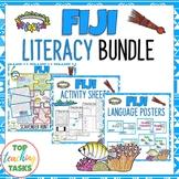 Fiji Reading Writing and Classroom Display BUNDLE | Pacifi