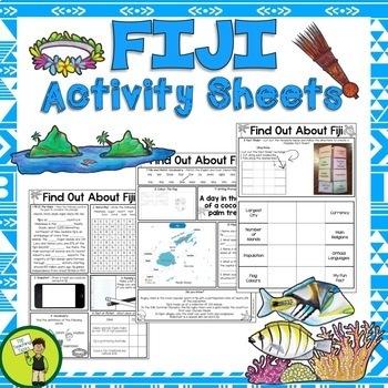 Fiji Reading Writing and Classroom Display BUNDLE | Pacific Islands