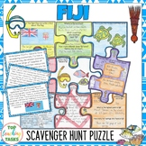 Fiji Scavenger Hunt Puzzle Activity
