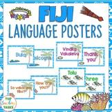 Fijian Greetings Introductions Farewells Classroom Display