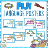 Fiji Greetings Introductions Farewells Display Posters | Pacific Islands