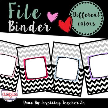 File Binder Freebie