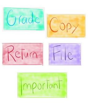 File Drawer Labels