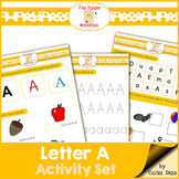 Letter A - File Folders
