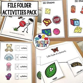 File Folder Activities