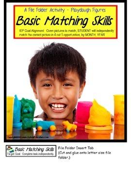 File Folder Activities Matching Visual Discrimination Skills SPECIAL EDUCATION