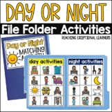 Day or Night- File Folder Activity- Special Education