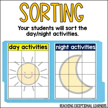 Day or Night File Folder Activity