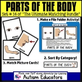 File Folder Activities For Special Education: PARTS OF THE BODY
