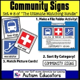File Folder Activities For Special Education: SAFETY SIGNS