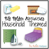 File Folder Activities {Household Themed}