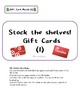 File Folder Activities - Stocking Gift Cards