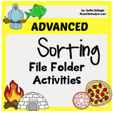 File Folder Activities for Advanced Sorting