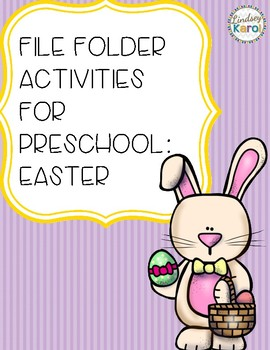 File Folder Activities for Preschool: Easter