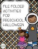 File Folder Activities for Preschool: Halloween