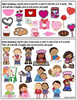File Folder Activities for Preschool: Valentine's Day