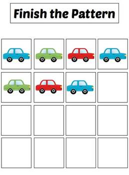 File Folder Activities to Match, Sort, Count, and More! {VEHICLE themed}