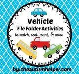File Folder Activities to Match, Sort, Count, and More! {V
