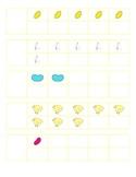 File Folder Activity 1-10 Ten Frames (Easter Theme)