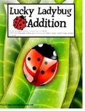 Autism File Folder Activity Addition up to 10 Ladybug Counting
