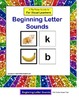 File Folder Activity Beginning Letter Sounds {Initial Sounds - SET OF 2)