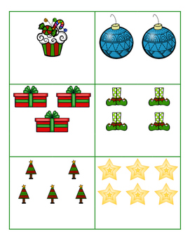 File Folder Activity Bundle for December (Christmas Theme)
