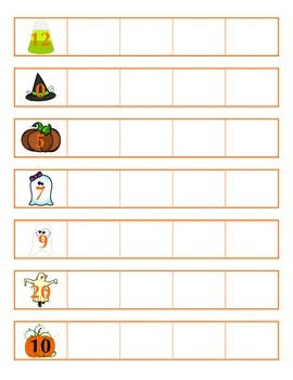 File Folder Activity Bundle for October (Halloween Theme)