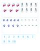 File Folder Activity Numeral to Quantity 1-10 (Winter Theme)