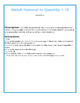 File Folder Activity Numeral to Quantity 1-10 (Winter Theme)