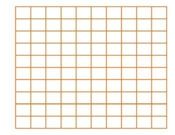 File Folder Activity Sequence 1-100 (Orange)