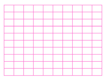 File Folder Activity Sequence Numbers 1-100 (Pink)