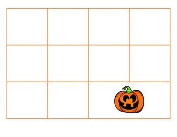 File Folder Activity Sequence to 100 by 10's (Halloween Theme)